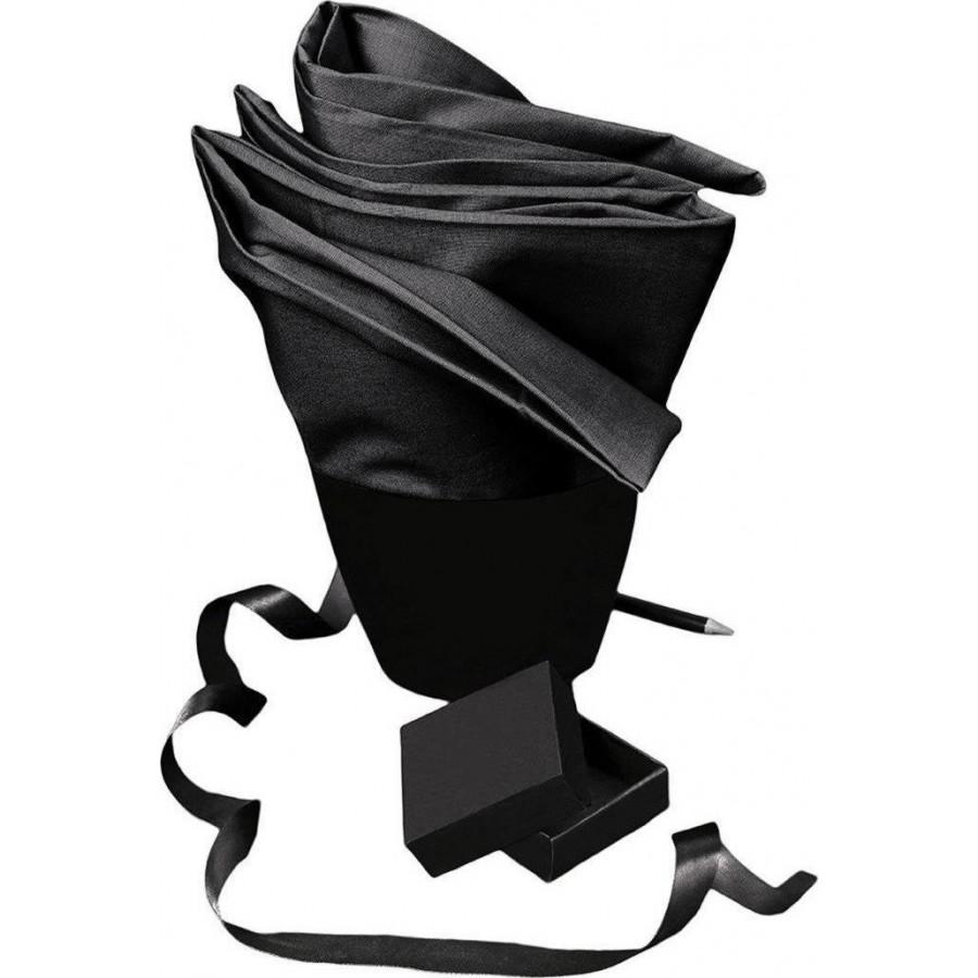 Πάπλωματοθήκη Μονή Urban Black Melinen 160X245
