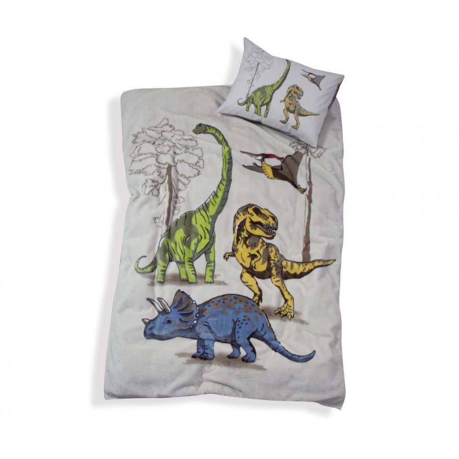 Κουβέρτα Μονή Jurassic Beige Nef-Nef 160Χ220