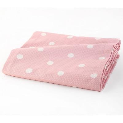 Κουβέρτα Πικέ Υπέρδιπλη Posto Pink 230x240