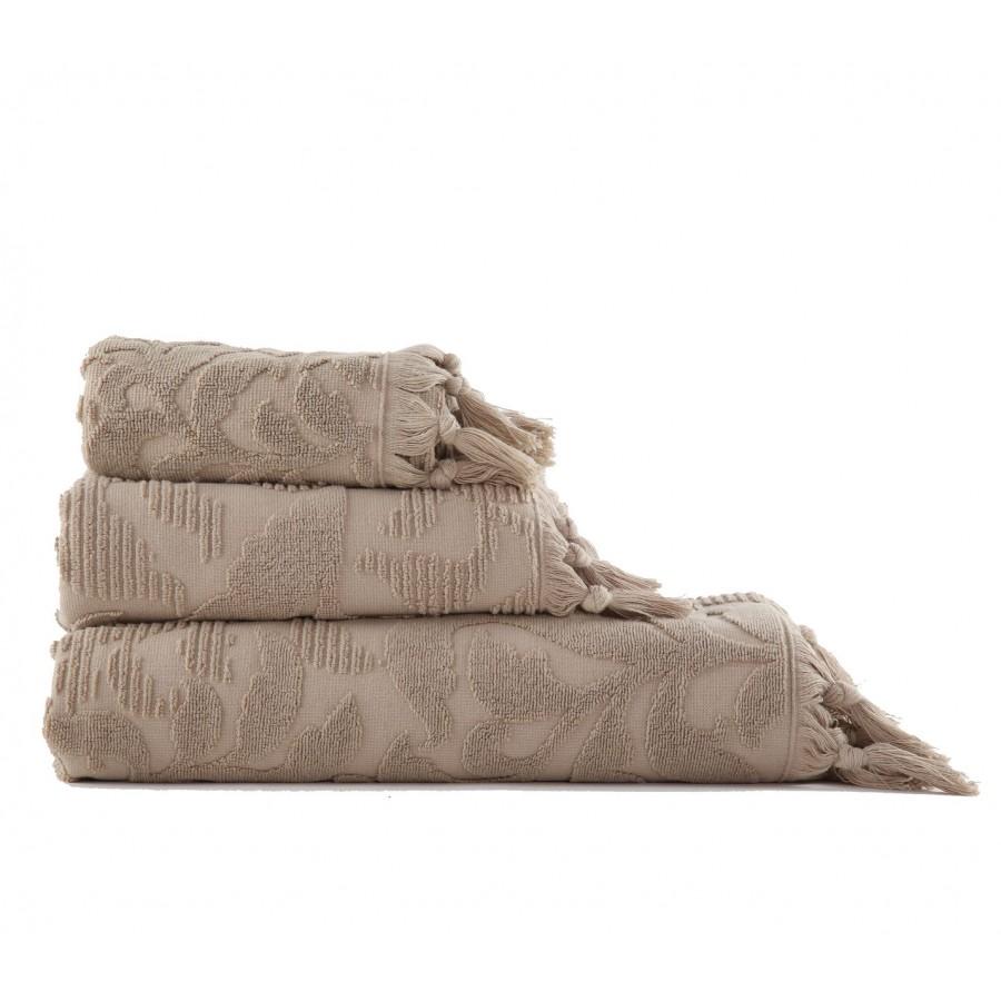 Πετσέτα Χεριών Kynthia Beige Nef-Nef  30X50