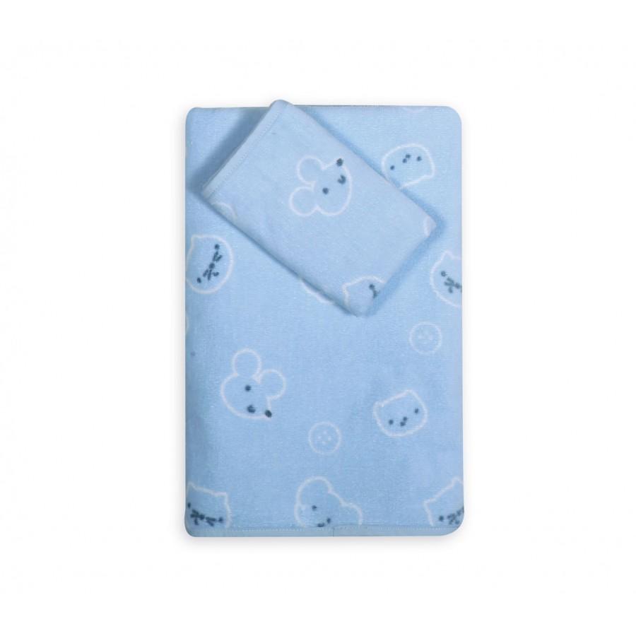Σετ Βρεφικές Πετσέτες Wonderful World  Nef-Nef  30X50 - 70X140